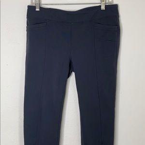 Athleta Large Legging Pants Gray
